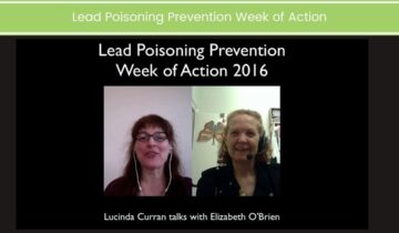 Lead Poisoning Prevention Week of Action