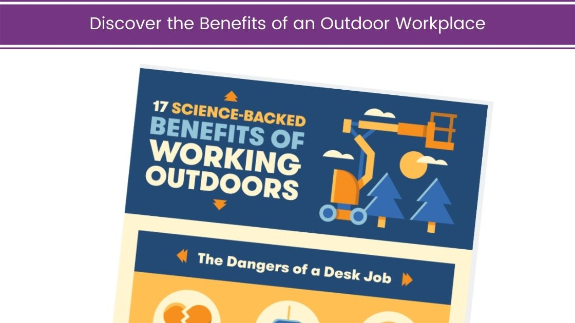 Discover the Benefits of an Outdoor Workplace