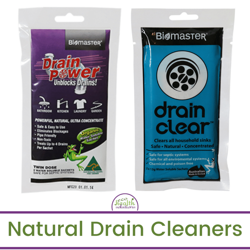 natural drain cleaners